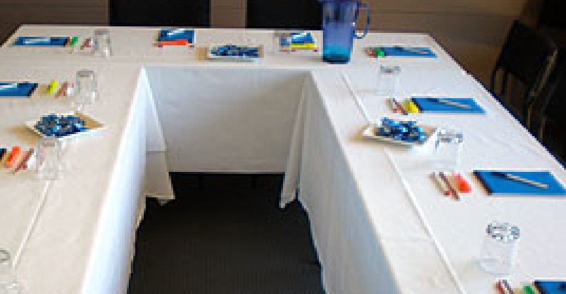 meeting-table of DevineEscape